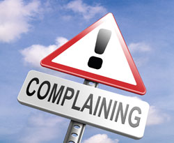Image result for pic of complaining customer