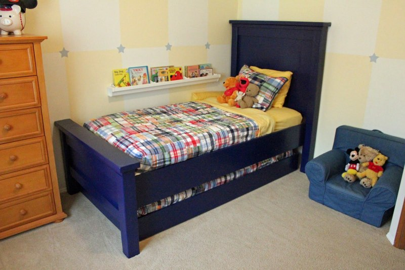 blue-trundle-bed-for-kids