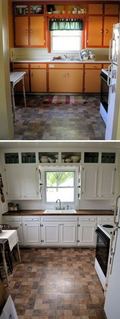 white-paint-wood-countertop