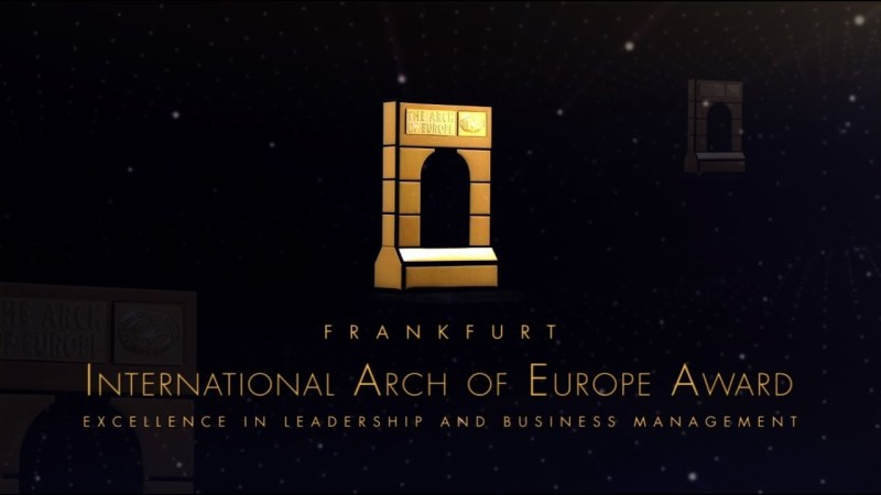 Arch of Europe Award