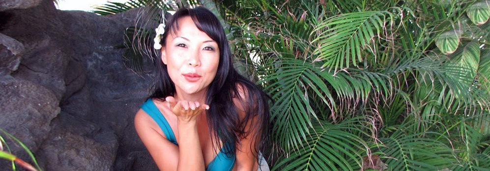 kim hawaii model