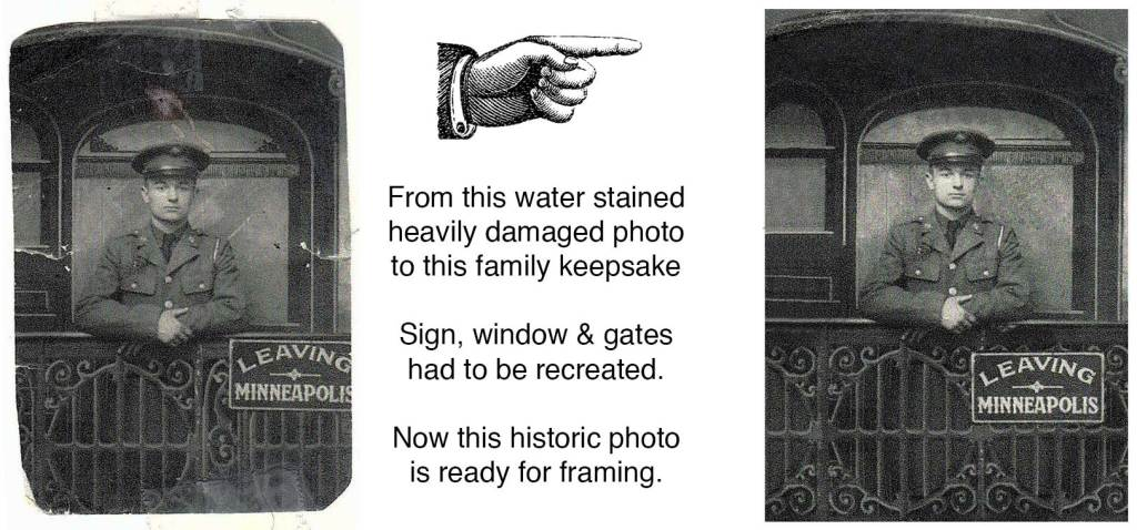 best deal vintage photograph restoration