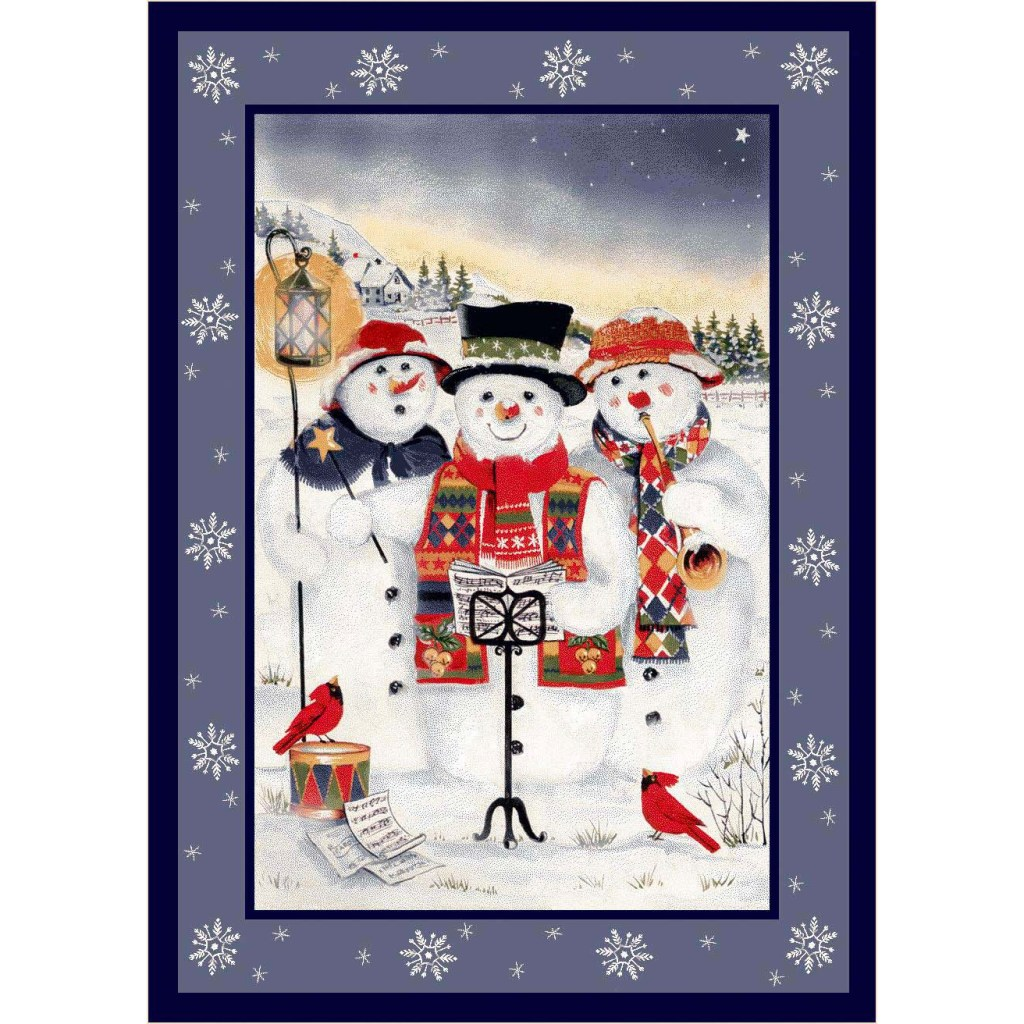 Milliken Seasonal Rugs - Merry Minstrels