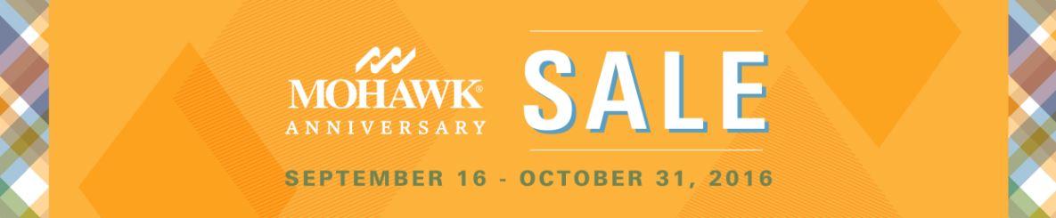 Mohawk Sale Banner