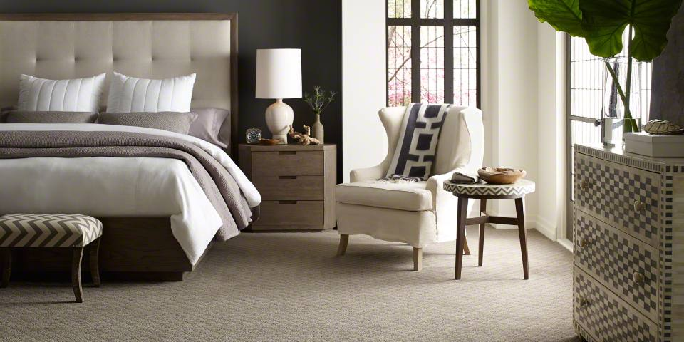 Dreamweaver Carpet offers soft textures and natural hues for open, modern spaces.