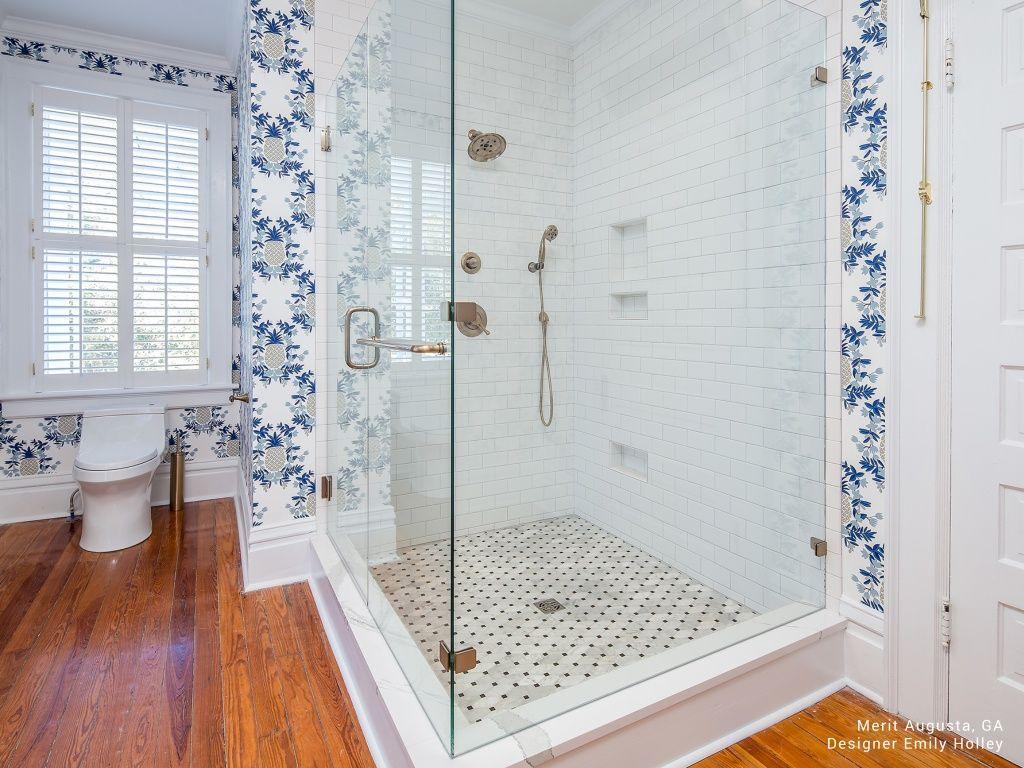 Interceramic Tile Bathroom | Custom Home Interiors