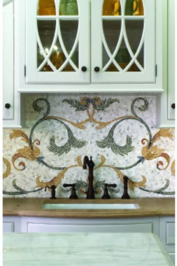 Custom Mirrored Glass Mosaics available at Custom Home Interiors!