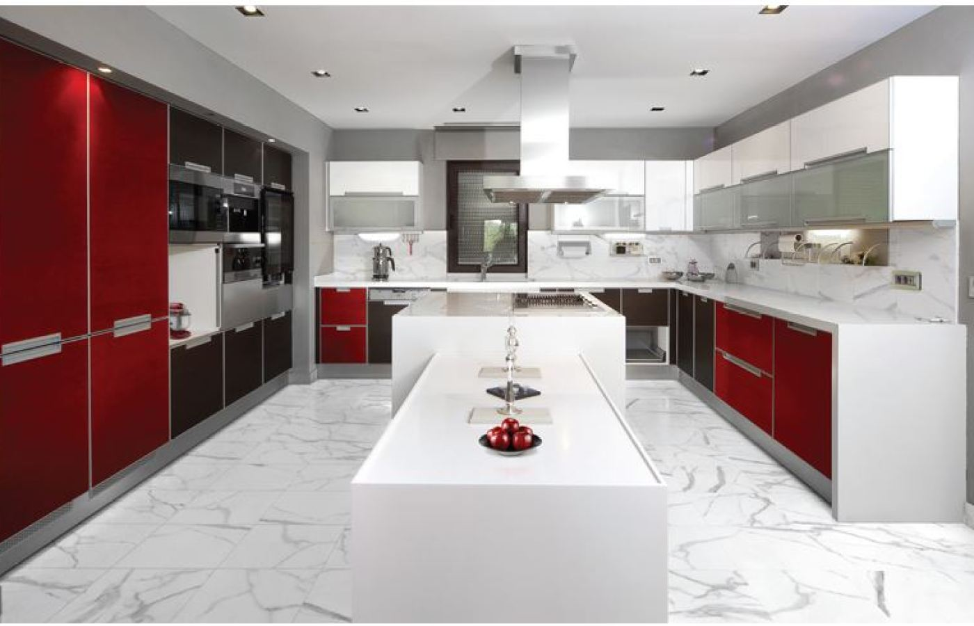 Slab Marble Tile available at Custom Home Interiors!