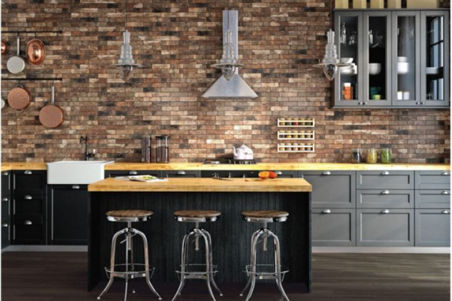 DalTile Brickwork Stone Tiles available at Custom Home Interiors!