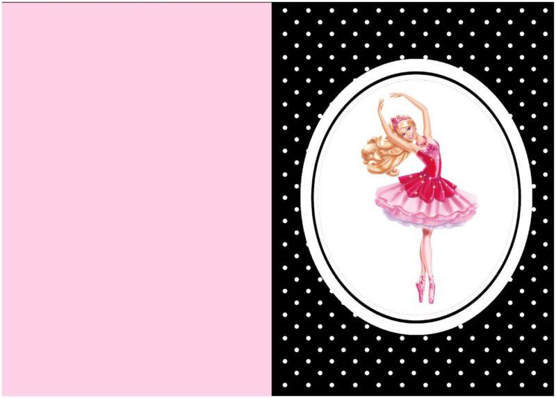 barbie birthday party invitation free