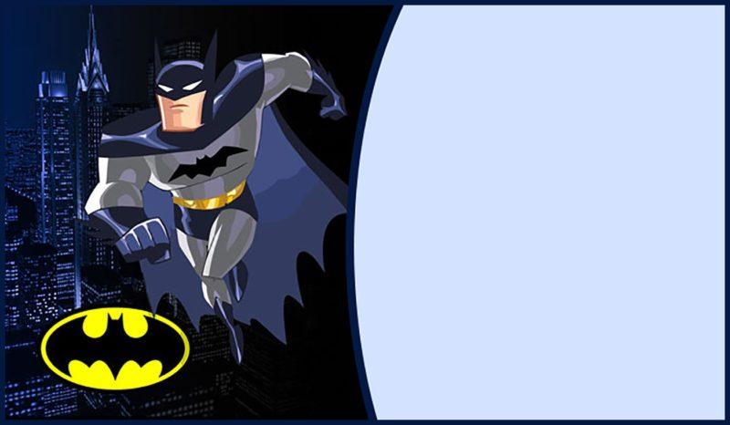 party batman invitations
