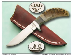 Henry Torres, MS Sheephorn Utility Field Knife