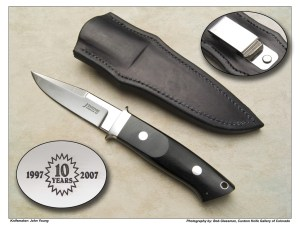 John Young 10th Anniversary Chute Knife