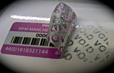 Void Asset Label