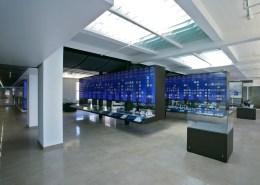 Custom Fabricated Fixtures for Inamori Kyocera Museum