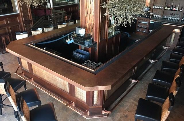 Eckl's Bar Area