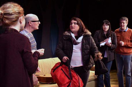 Jenna comes home (Hilary Hesse, Celeste Kamiya, Karen Offereins, Matt Weimer)