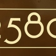 Craftsman Mailbox Numbers Beige