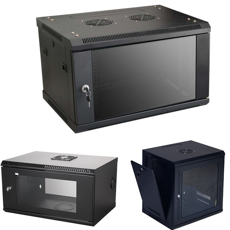 stable network rack cabinet 6u wall