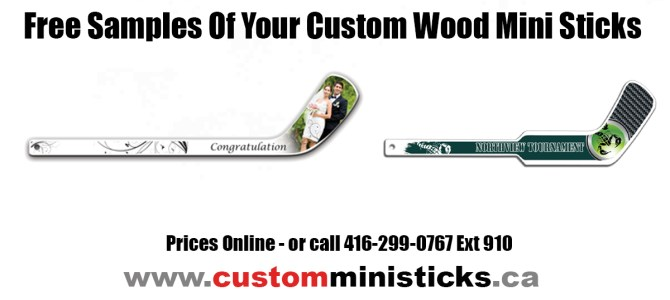 Free Samples Of Your Custom Wood Mini Sticks