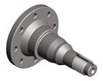 Turned part - Stub axle