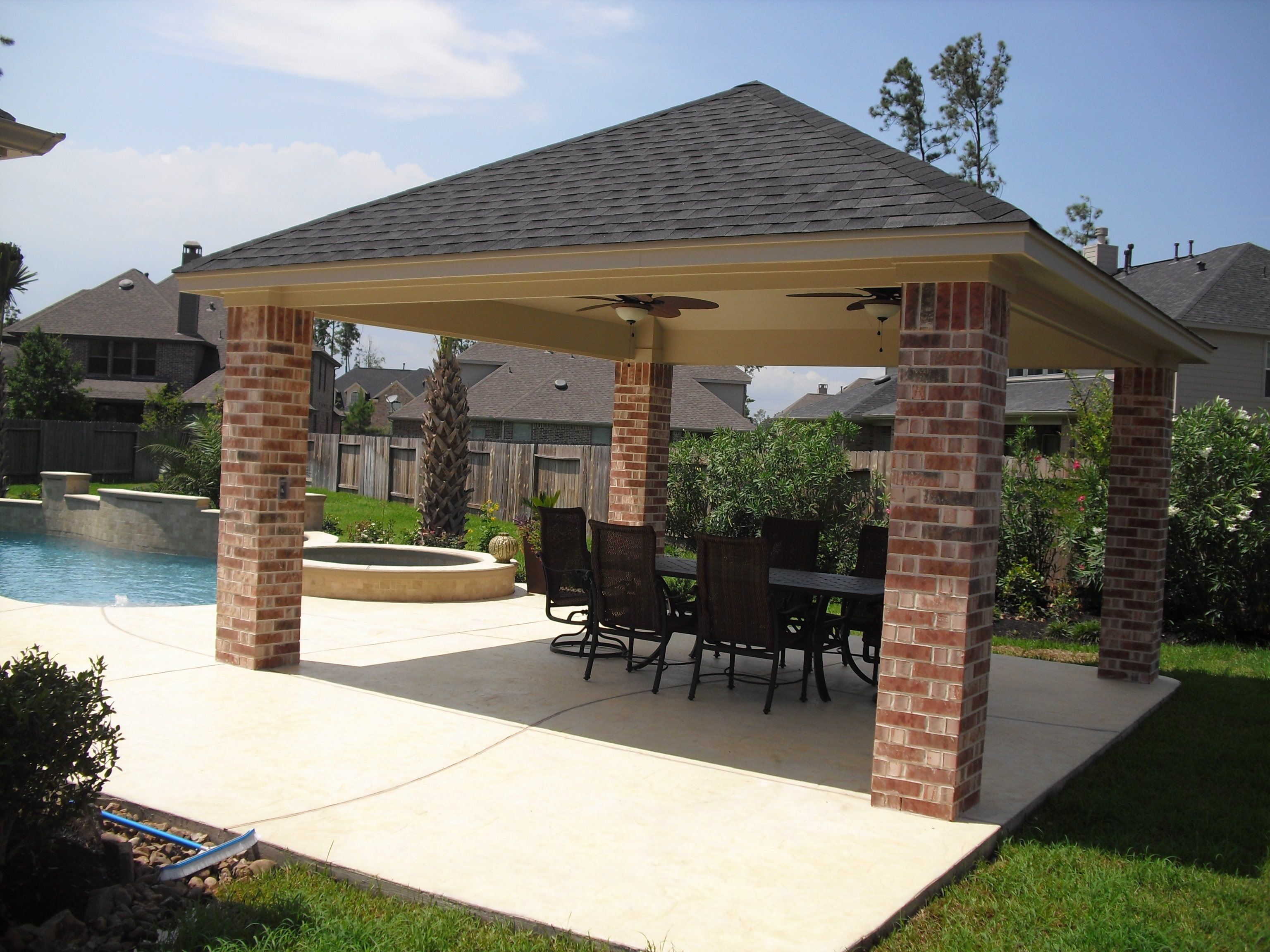 Patio Covers - Custom Patio Structures on Covered Patio Design Ideas id=53854