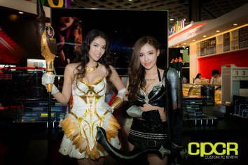 Computex Booth Babes - V-Color