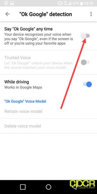 How To Turn Off OK Google Voice Assistant In Android