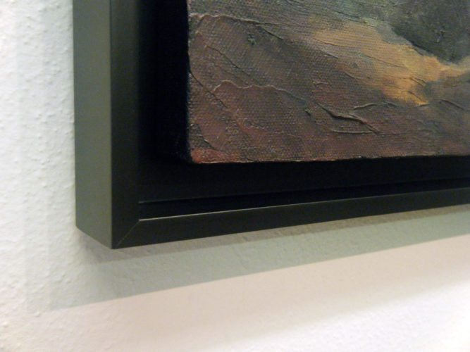 Canvas Floater Frame (detail)