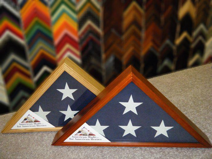 Memorial Flag Framing