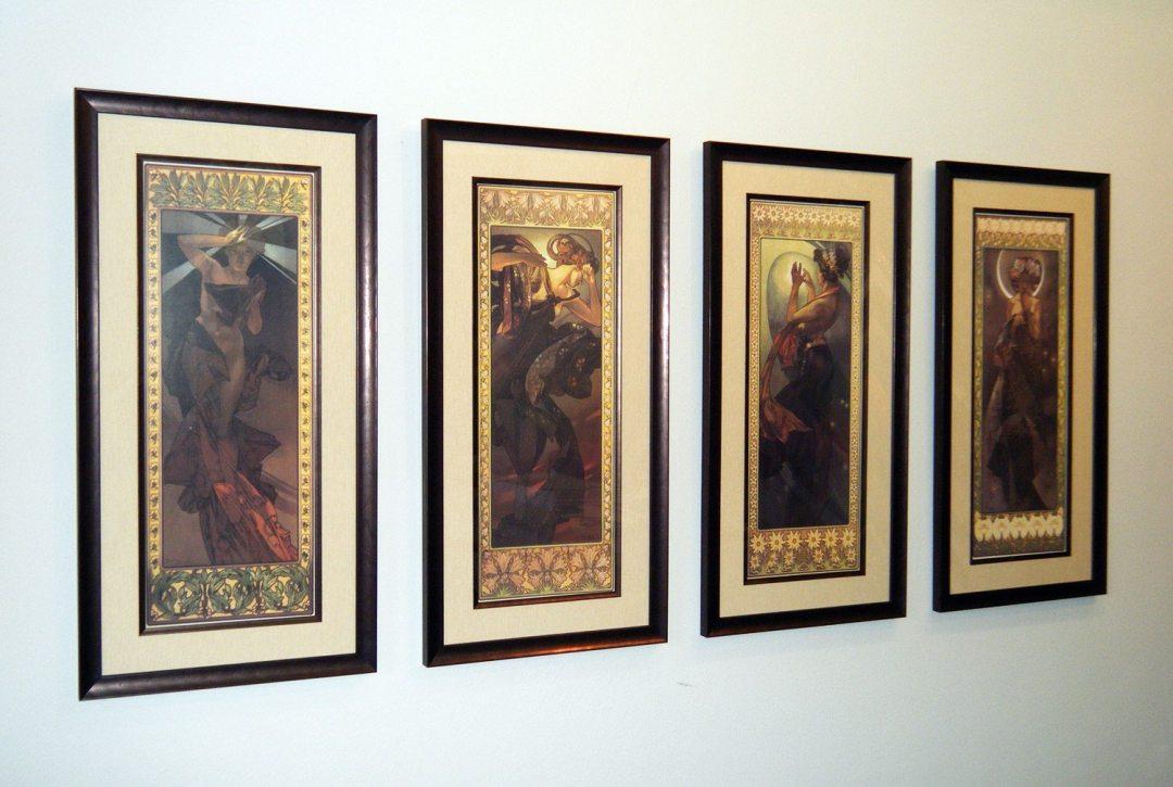 "Alphonse Mucha - ""Moon and Stars"" Series"