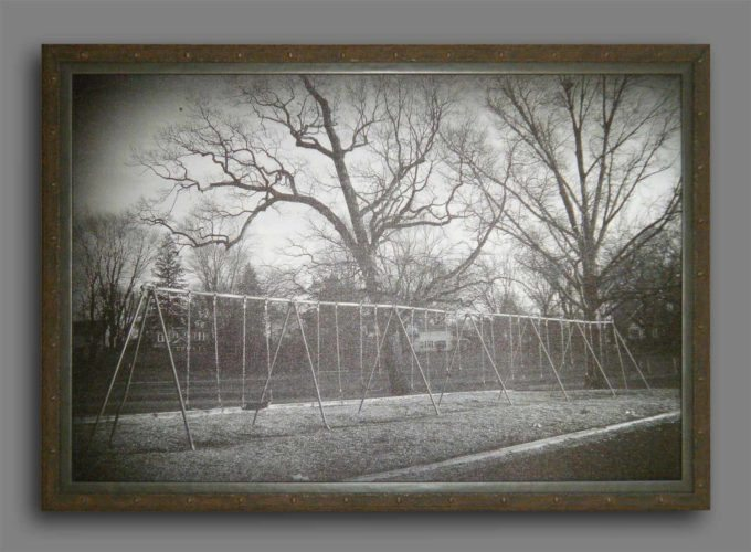 """Swings at Glenside-Weldon"" - Photo by Jim Gimpel"