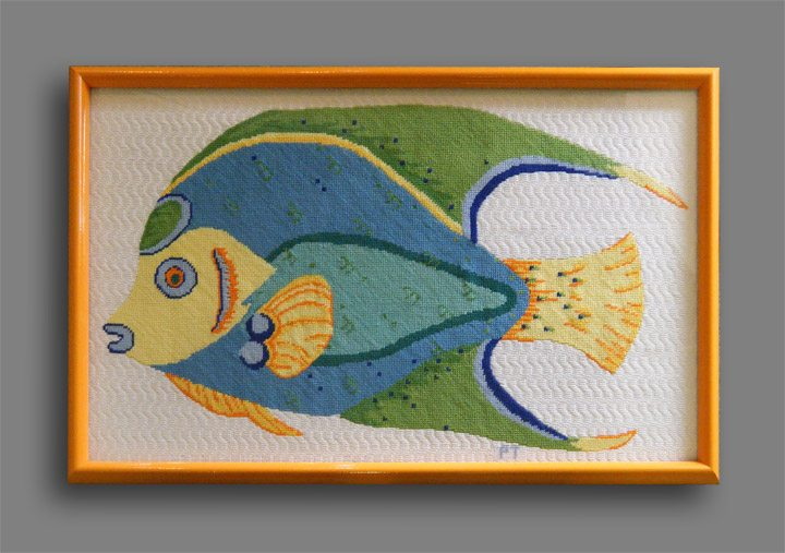 Fish Needlepoint