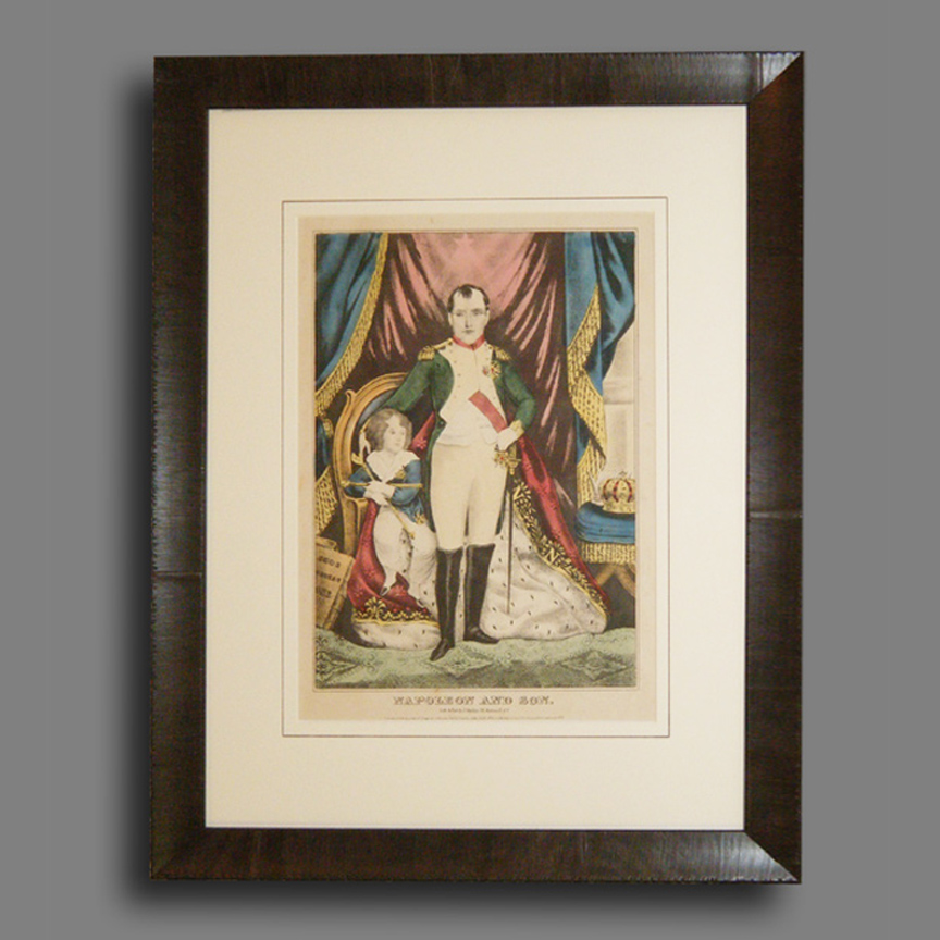 "1845 ""Napoleon"" print by James S Barille"