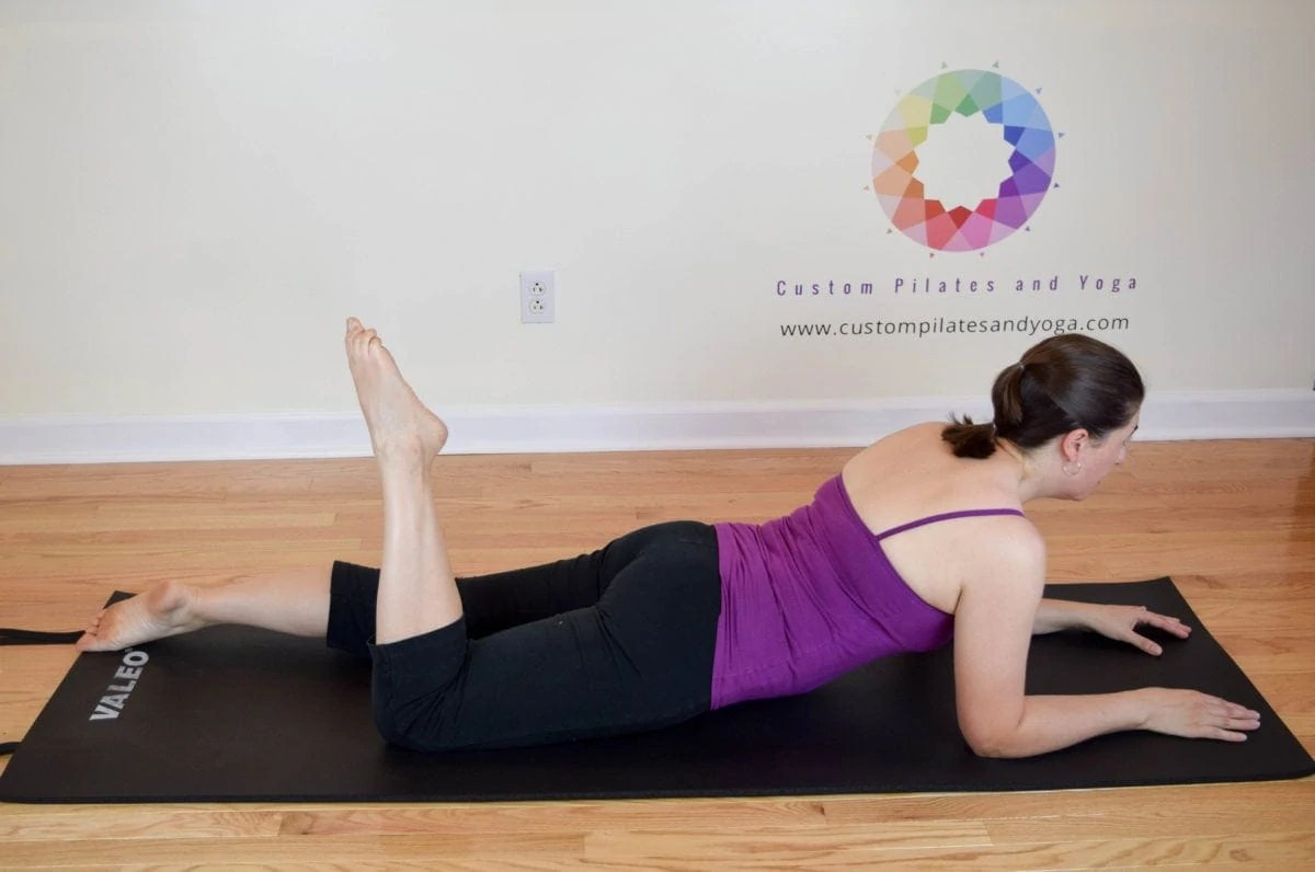 One Leg Kick:  A Pilates Classic Hamstring Challenge
