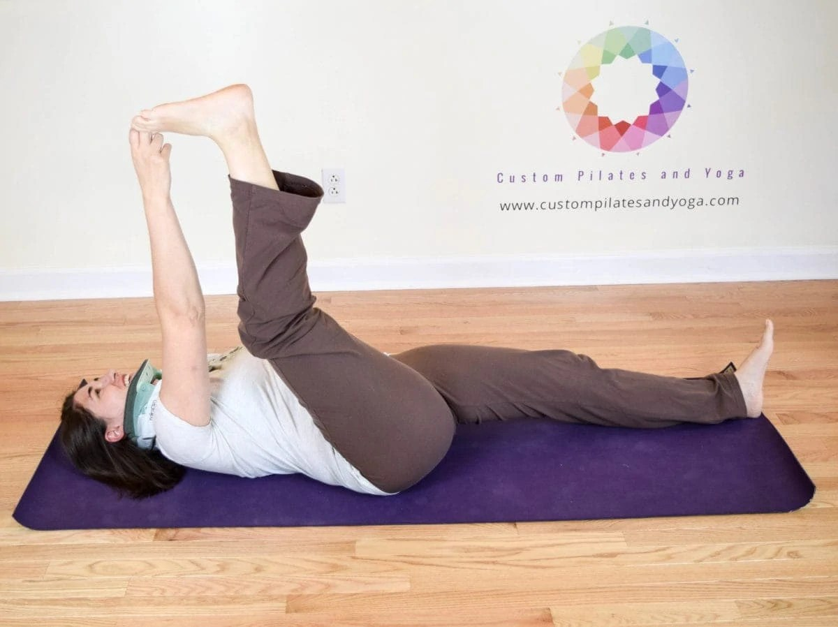 Supta Padangusthasana, the Surprising Core Strength Builder
