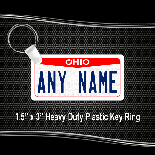 License Plate Ohio Blank