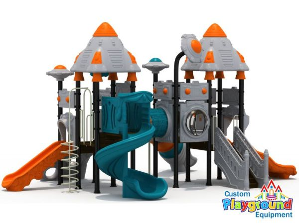 Space Shuttle Themed Commercial Playground ...