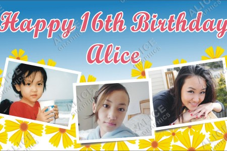 birthday photo banners personalized 4k pictures 4k pictures