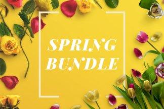 Spring Bundle – Just $9 and Save 80% – Custom Scene