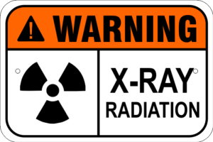 X-Ray Radiation Warning Sign