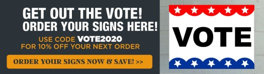 Get 20% Off your Order with Code VOTE2020