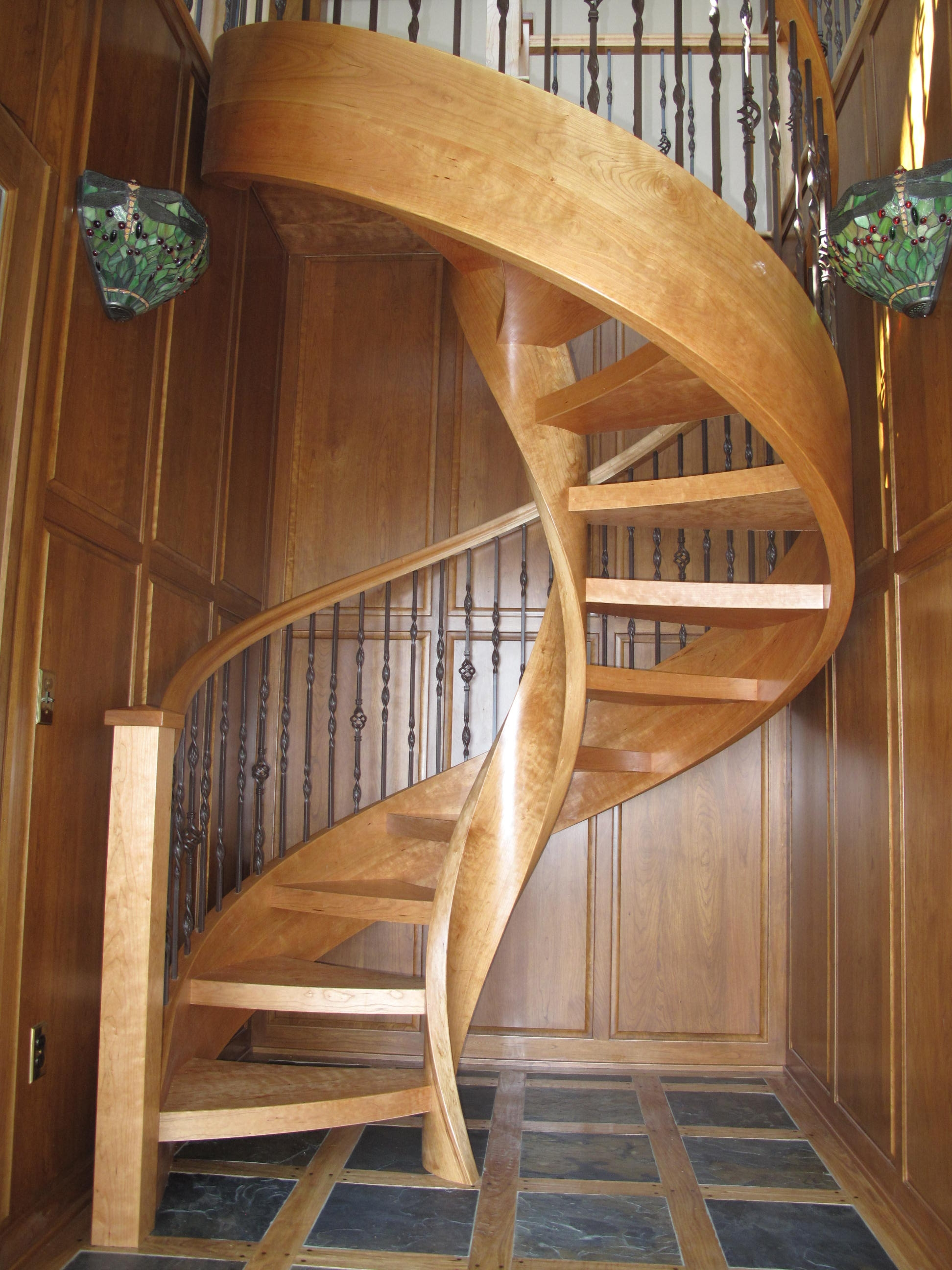 Blog Custom Spiral Staircases | Wooden Spiral Staircase For Sale | 3 Floor | Twist | Wrought Iron | 36 Inch Diameter | Free Standing