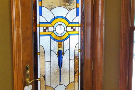 bedroom stained glass