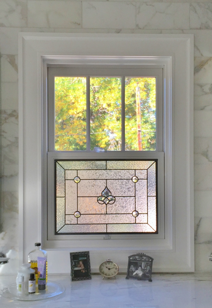 kitchen stained glass