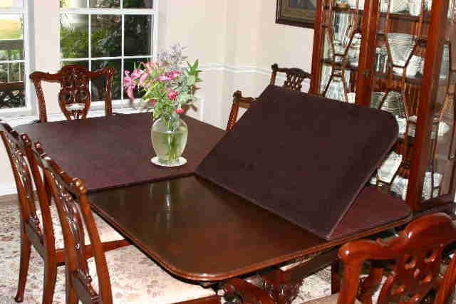Table Pads From Dressler Table Pad Company Custom Made Dining Room Table Pads