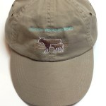 wheat cap with Hamilton Wholesale Meats Logo