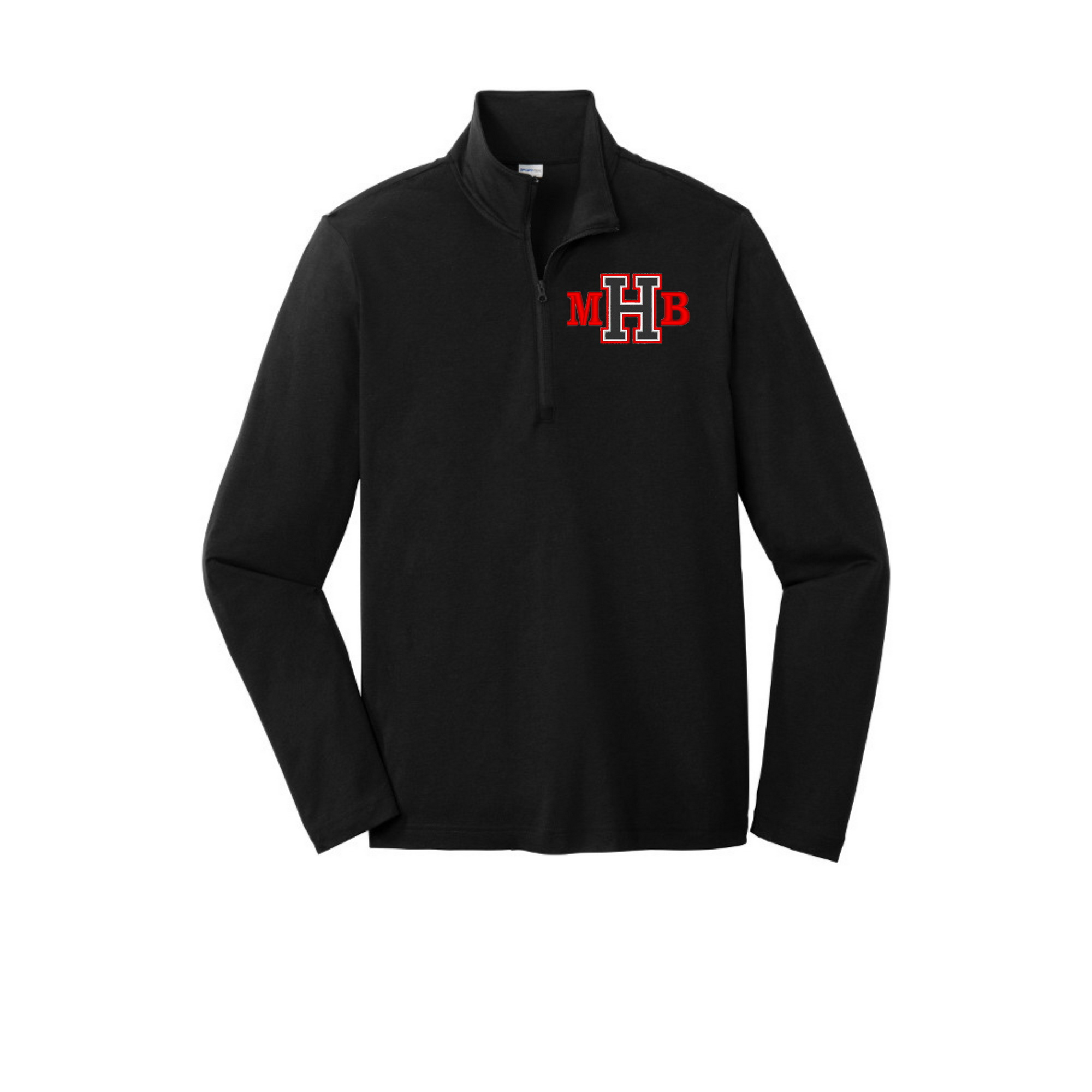 1/4 Zip light weight pull over
