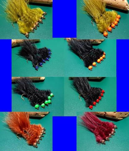 M&M Leech Fly Patterns