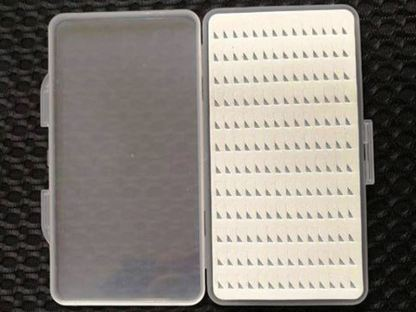 Slim Line Easy Grip Fly Box 168 - Open